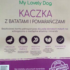 karma bezzbozowa dla psa